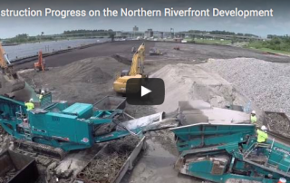 Northern Riverfront Marina Construction