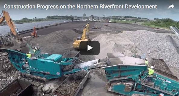 Northern Riverfront Marina Construction